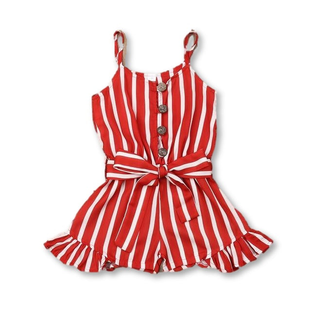 Layla Playsuit - Red