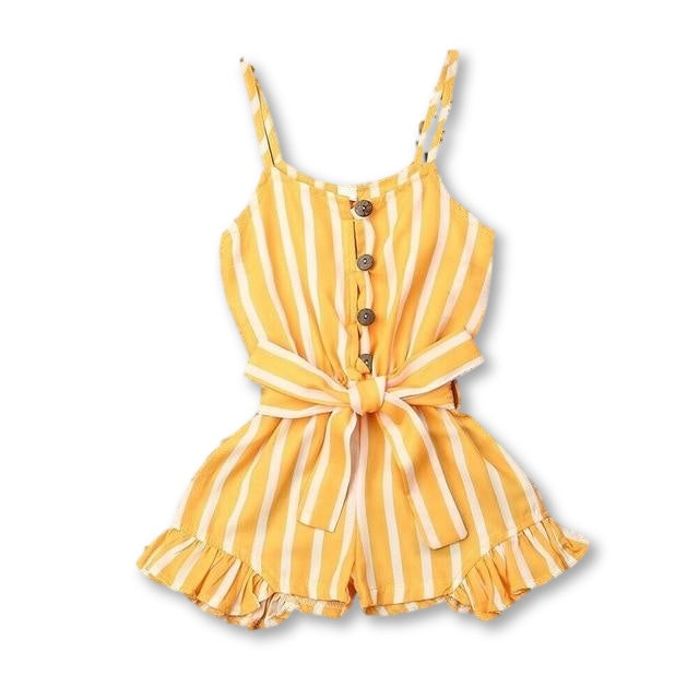 Layla Playsuit - Yellow
