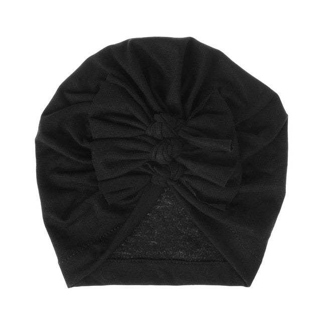 Triple Knot Turban - Black