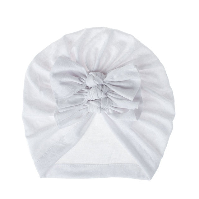 Triple Knot Turban - White