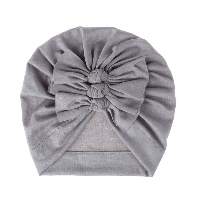 Triple Knot Turban - Grey