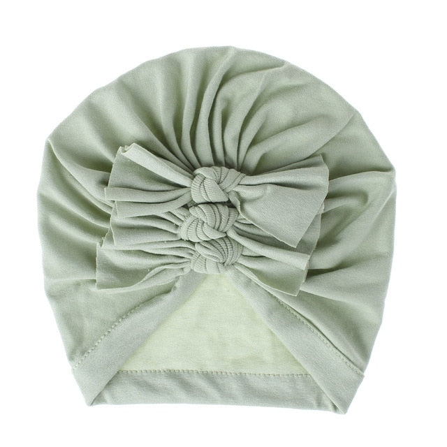 Triple Knot Turban - Lime