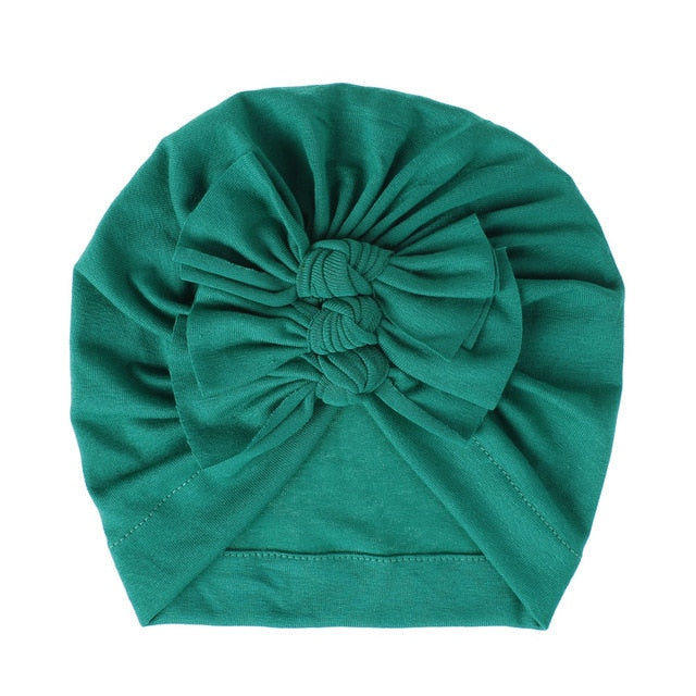 Triple Knot Turban - Dark Green