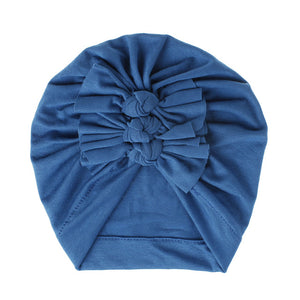 Triple Knot Turban - Blue