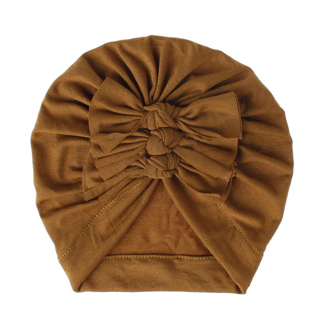 Triple Knot Turban - Brown