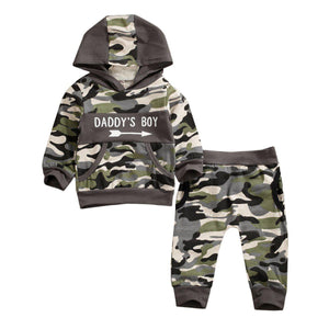 Daddy's Boy Camo Set