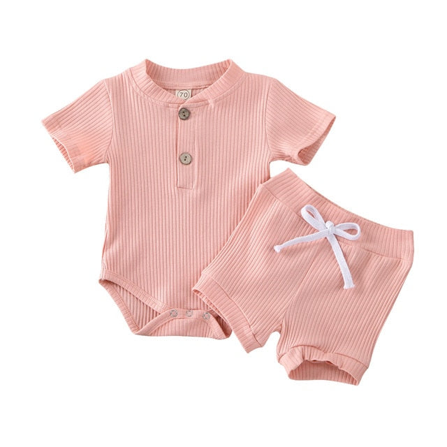 Basics Button Set - Pink