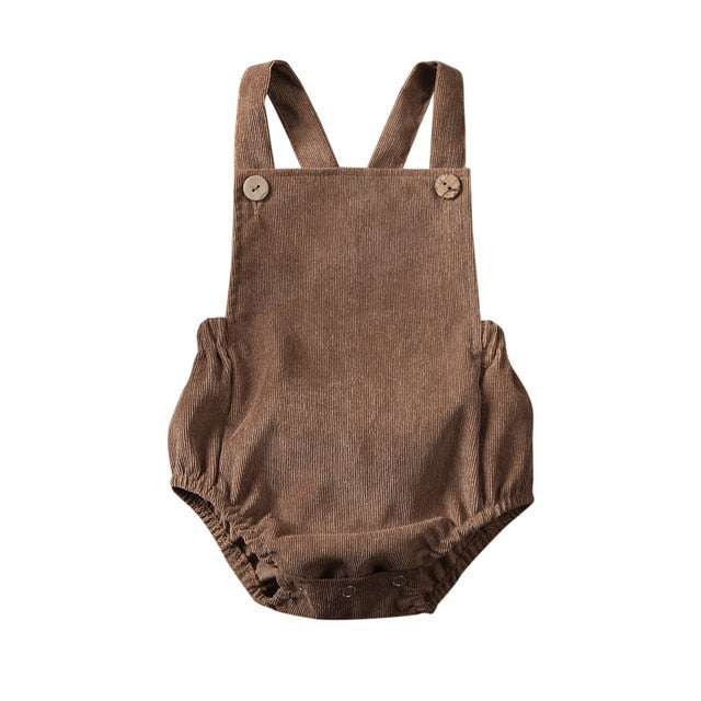 Basics Romper ll - Brown