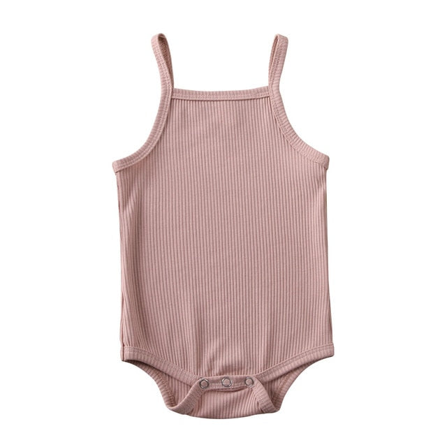 Basics Singlet Bodysuit - Dusty Pink