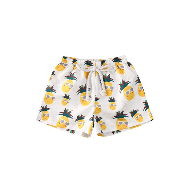 Summer Shorts - Pineapple