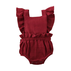 Summer Romper - Wine