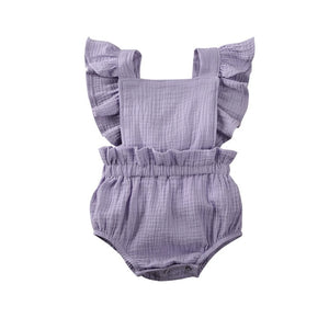 Summer Romper - Purple