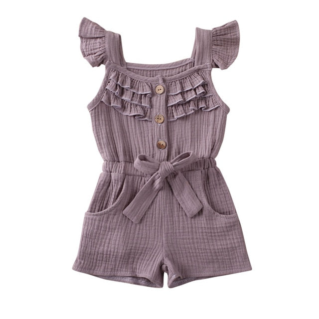Nova Playsuit - Purple