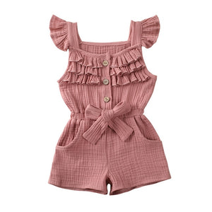Nova Playsuit - Dusty Pink