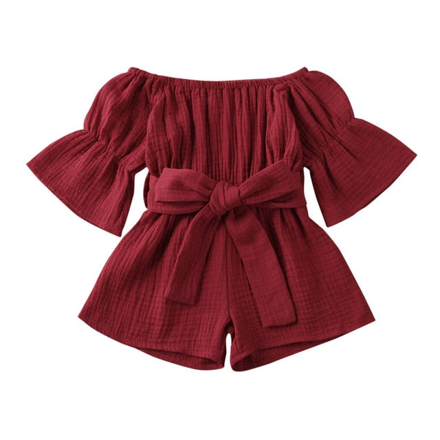Eva Romper - Red