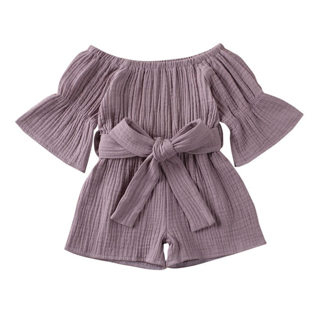 Eva Romper - Purple