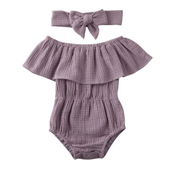 Lillie Romper - Purple