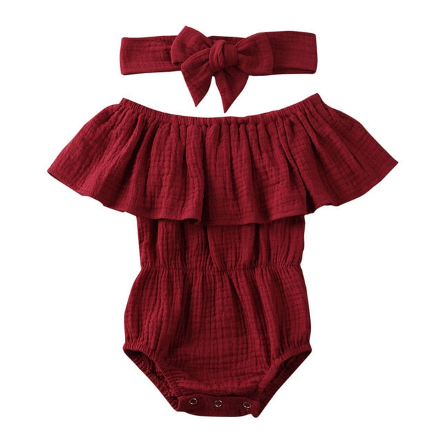 Lillie Romper - Red