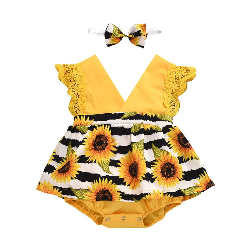 Millie Sunflower Romper