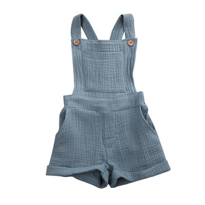 Crushed Overalls - Teal