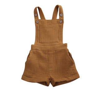 Crushed Overalls - Mustard