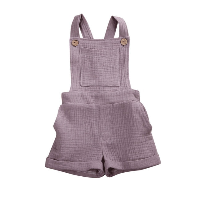 Crushed Overalls - Purple