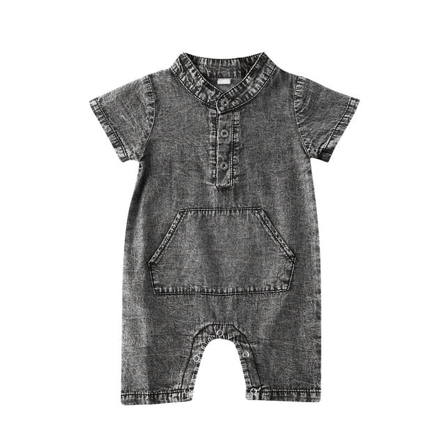 Spencer Onesie - Black
