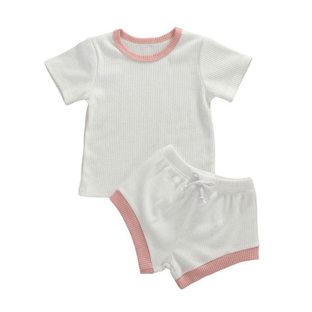 Basics Set - White & Pink