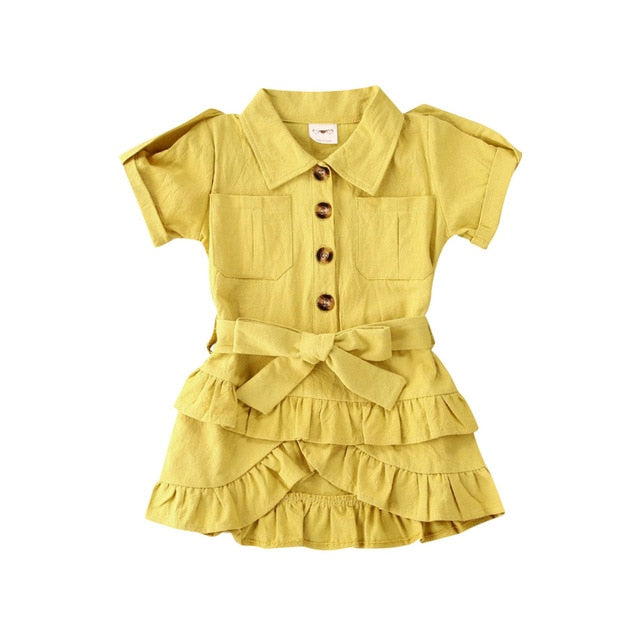 Jazmyn Dress - Yellow
