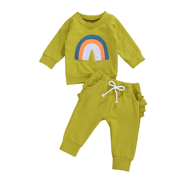 Rainbow Tracksuit - Green