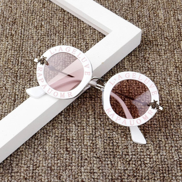 Diva Sunglasses - White