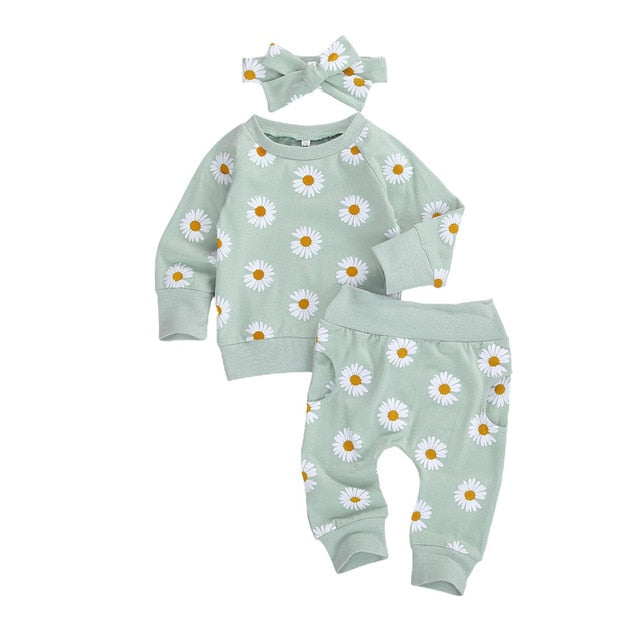 Daisy Set - Green