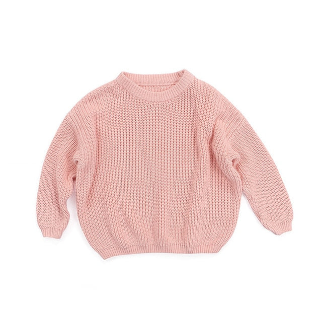 Knit Sweater - Peach