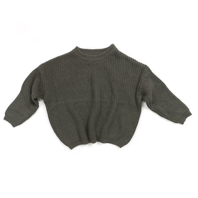 Knit Sweater - Grey