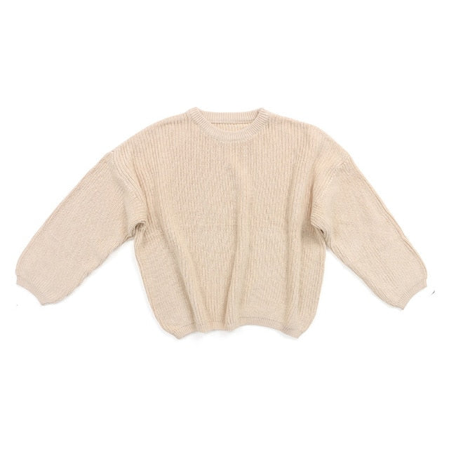 Knit Sweater - Cream