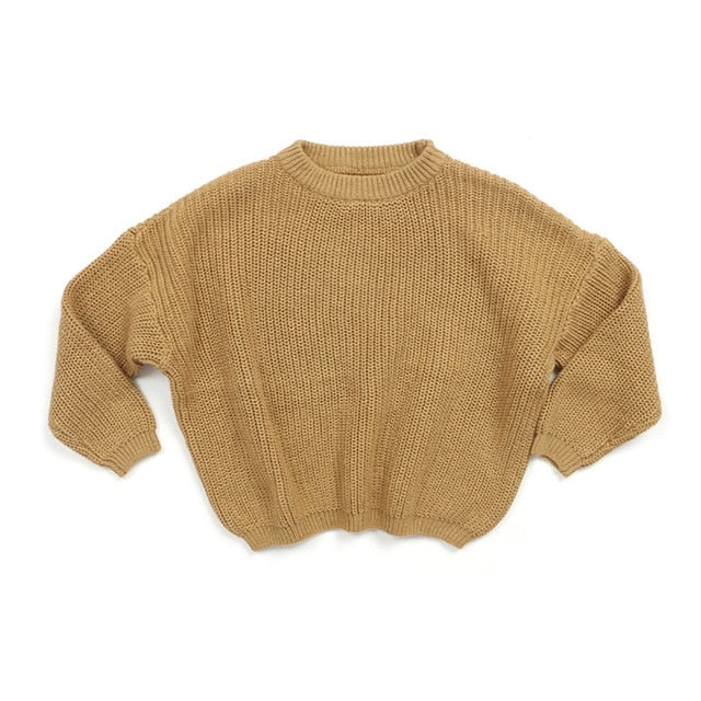 Knit Sweater - Coffee