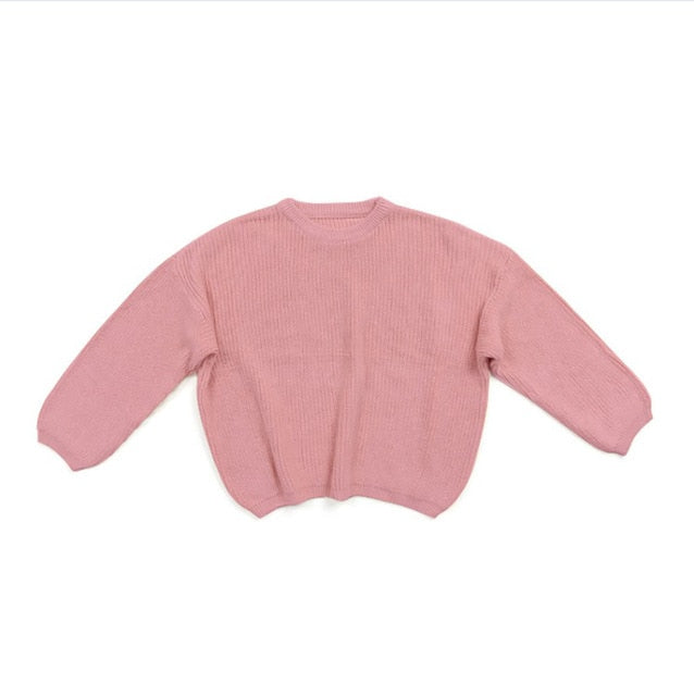Knit Sweater - Pink