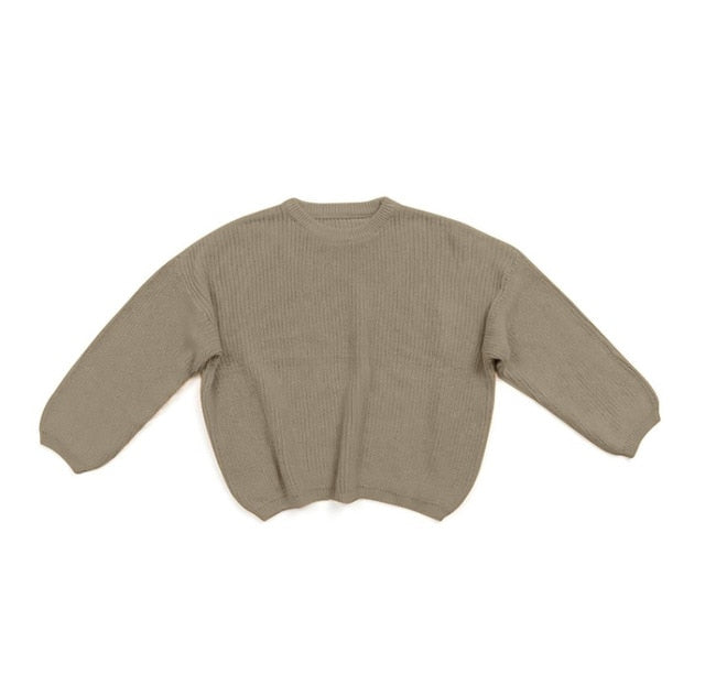 Knit Sweater - Olive