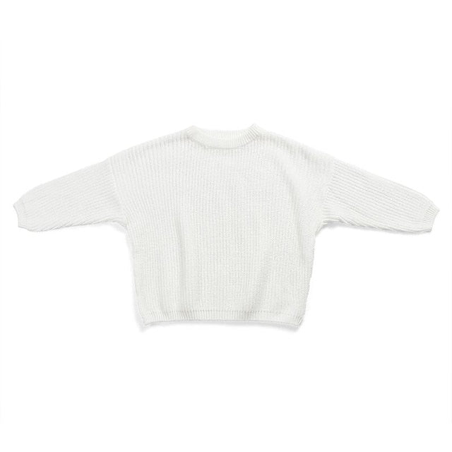 Knit Sweater - White