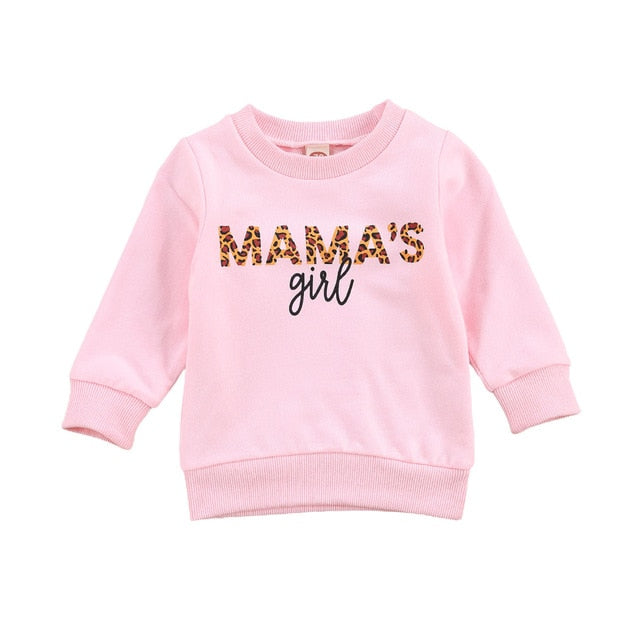 Mama's Girl Sweater - Pink