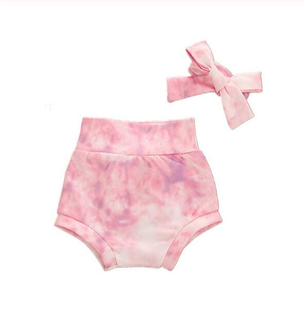 Tie Dye Bloomers - Light Pink