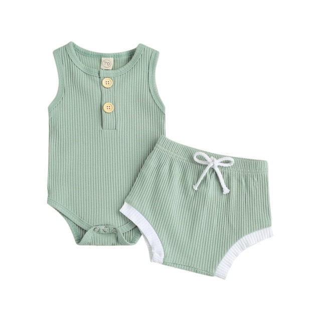 Billie Basics Set - Light Green