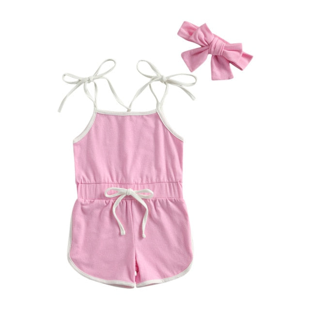 Leah Playsuit - Pink