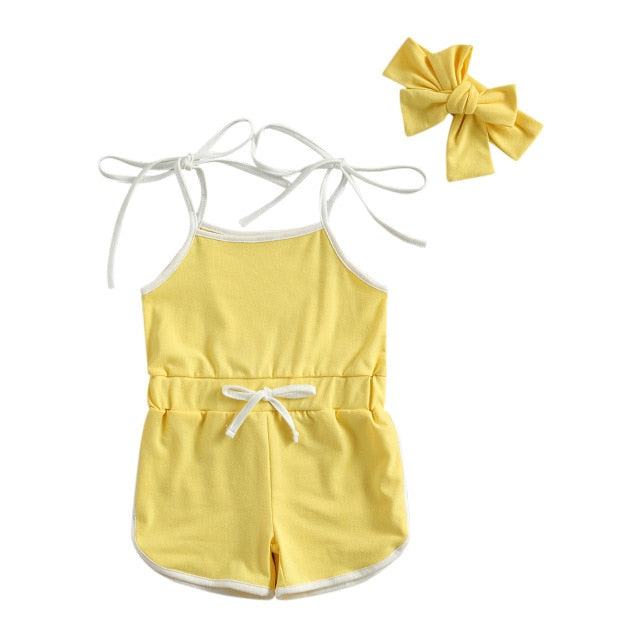 Leah Playsuit - Yellow