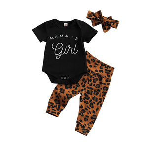 Mama's Girl Set - Black