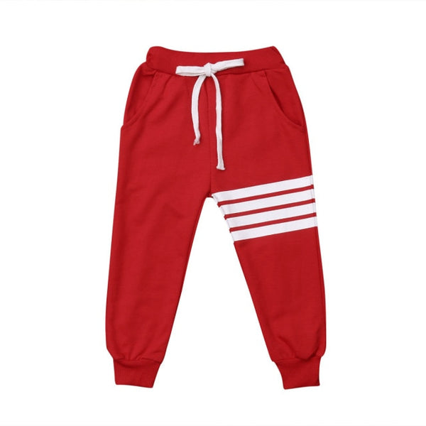 Stripe Trackpants - Red