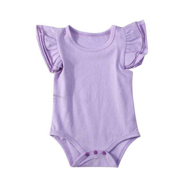 Flutter Bodysuit - Purple