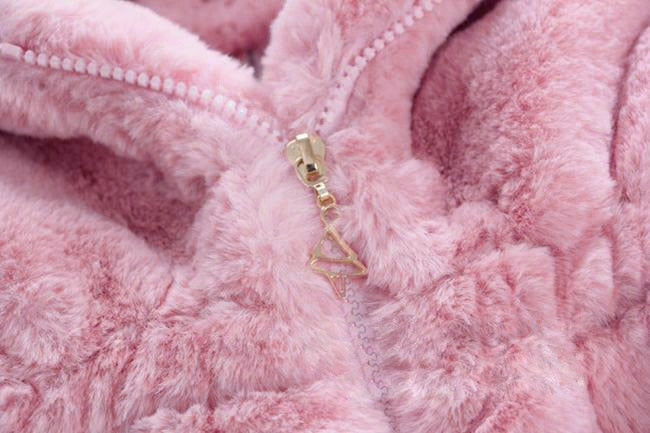 Deluxe Fluffy Coat - Pink
