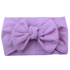 Bow Headband - Purple