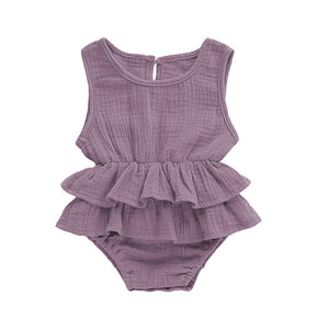 Kirsten Romper - Purple